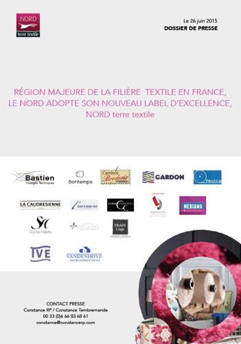 RÉGION MAJEURE DE LA FILIÈRE TEXTILE EN FRANCE, LE NORD ADOPTE SON NOUVEAU LABEL D'EXCELLENCE, NORD terre textile